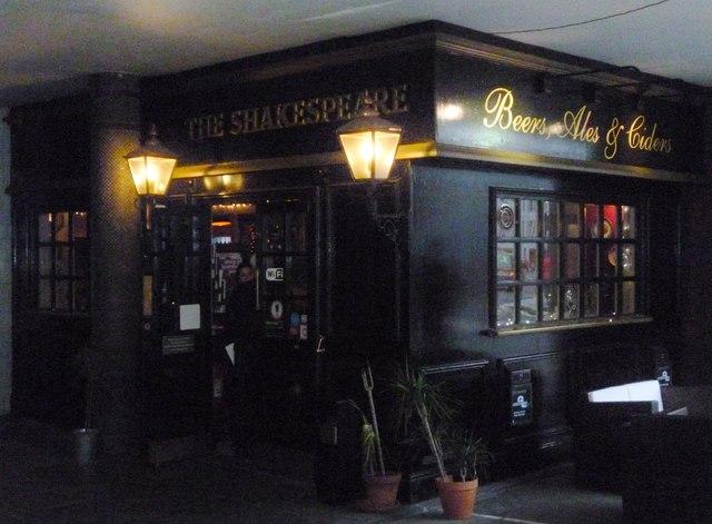 The Shakespeare, Aldersgate Street EC1