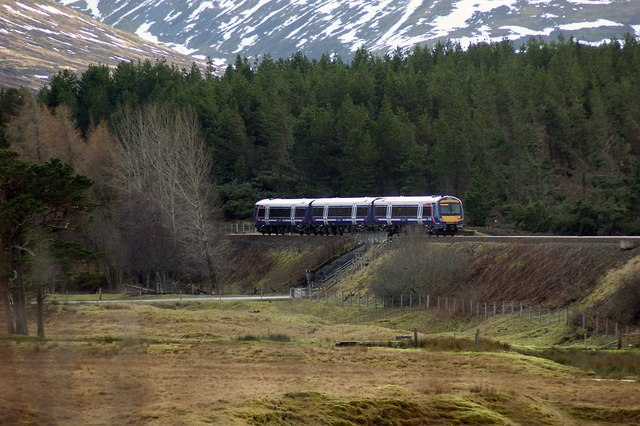 Class 170 Near Dalwhinnie