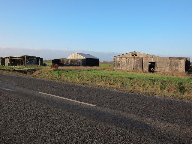 Farm buildings by B1160
