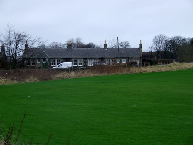 Cottages on Turnhouse Farm Road