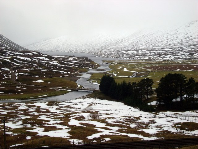 Outflow from Loch Garry
