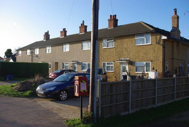 Houses on Eyeworth Road