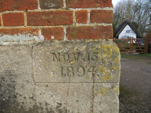 Date on the tollhouse