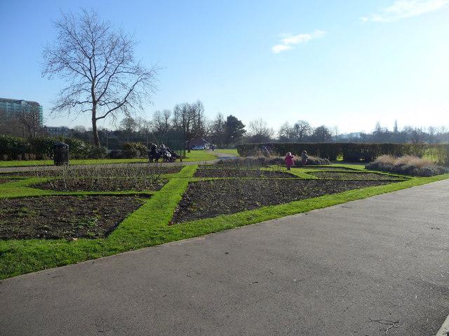Former Rose Garden, Enfield Town Park