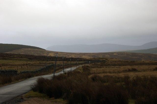 A897 South of Kinbrace