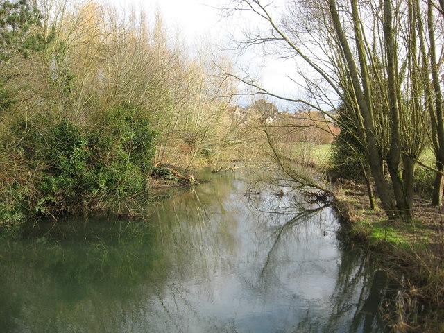 The River Avon in Malmesbury