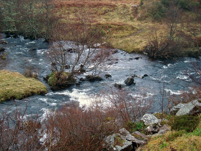 River Confluence in Glen Loth