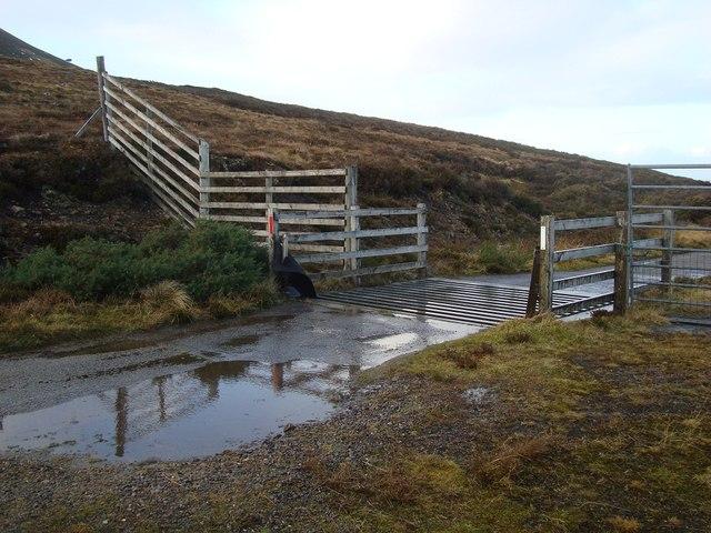Cattle Grid in Glen Loth