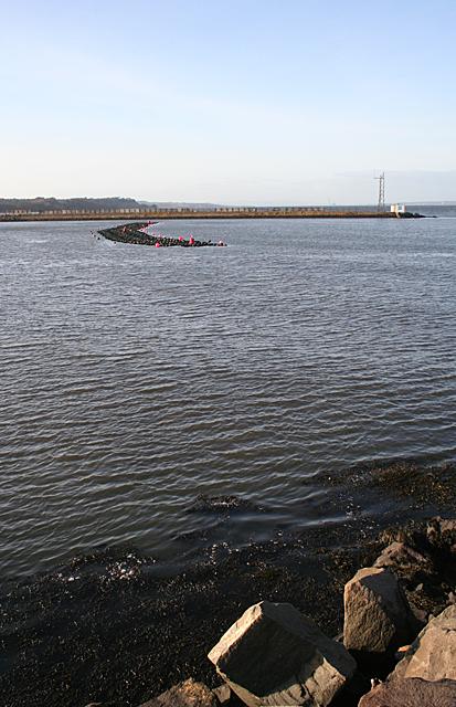 West Breakwater from East Breakwater