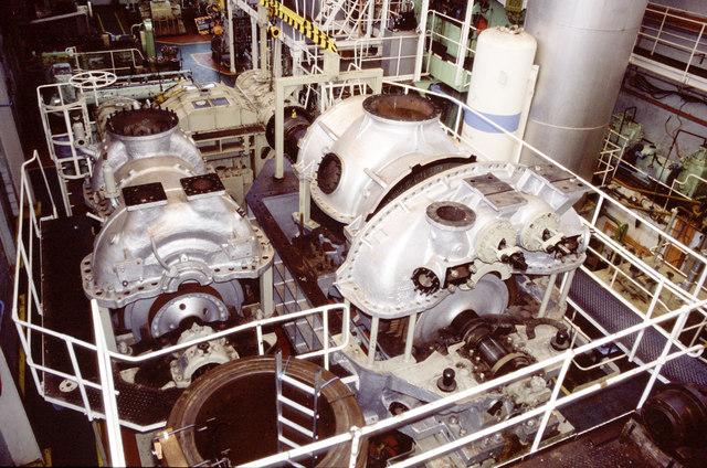 South Tyneside College - steam turbine