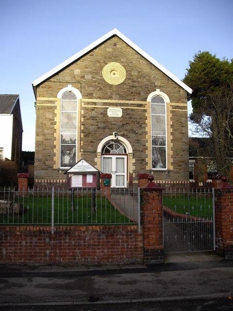 Tabernacle Congregational Chapel, Rhiwderin
