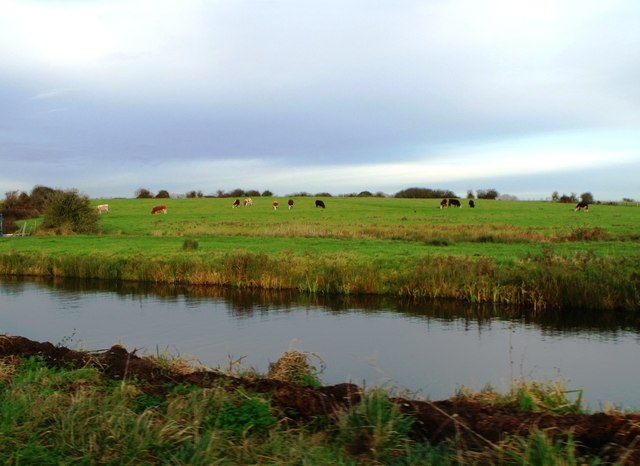 Drainage channel, Pevensey Levels