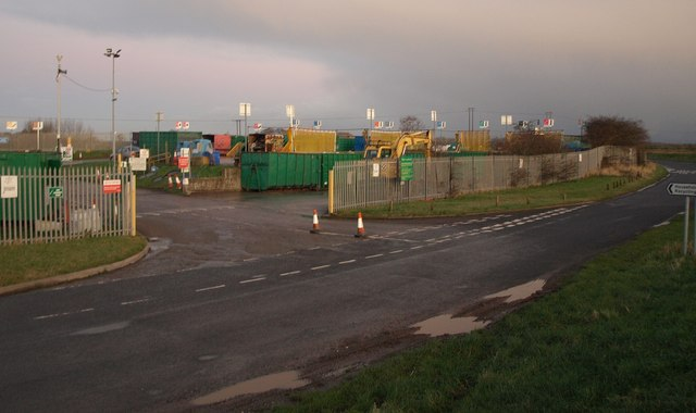 Recycling centre, Weel