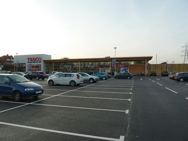 New Tesco at Higher Blackley, Manchester