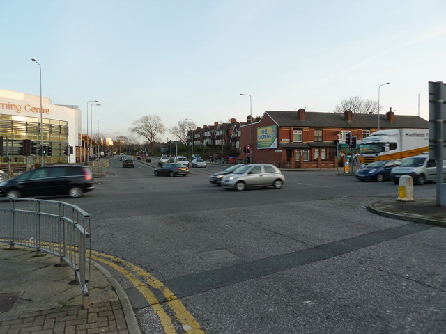 Junction of Victoria Avenue and Rochdale Road, Blackley, Manchester