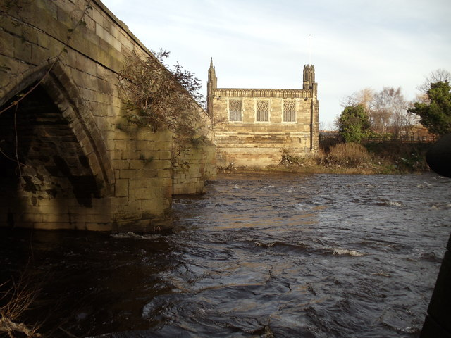 Chantry Bridge Chapel, Wakefield