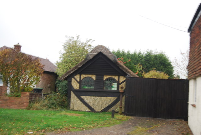 Small thatched building, Chestfield Rd