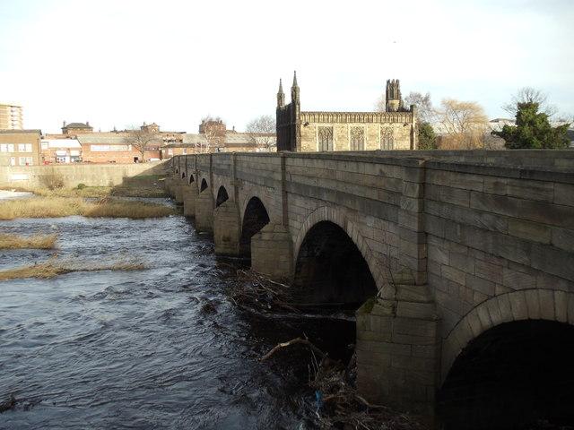 Chantry Bridge, Wakefield