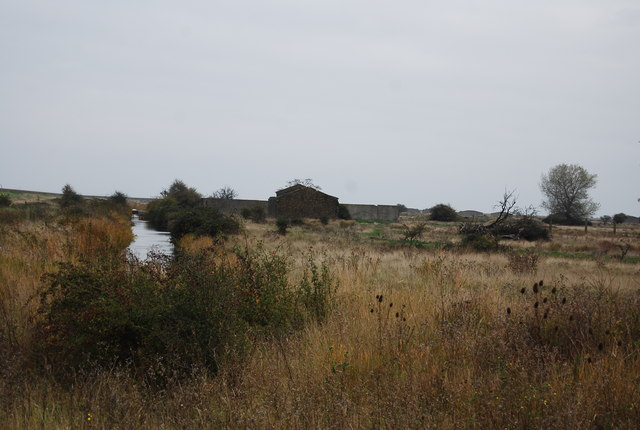 Drain and munition factory ruins