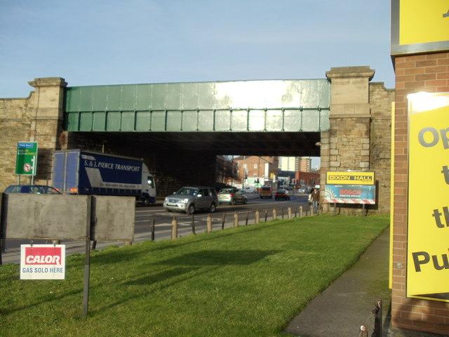 Railway Bridge, Kirkgate, Wakefield