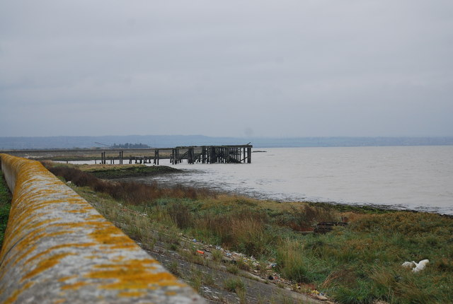 Ruined jetty