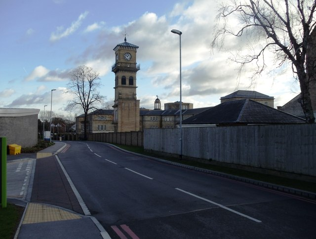 The old clock tower, Stanley Royd - Pinderfields Hospital