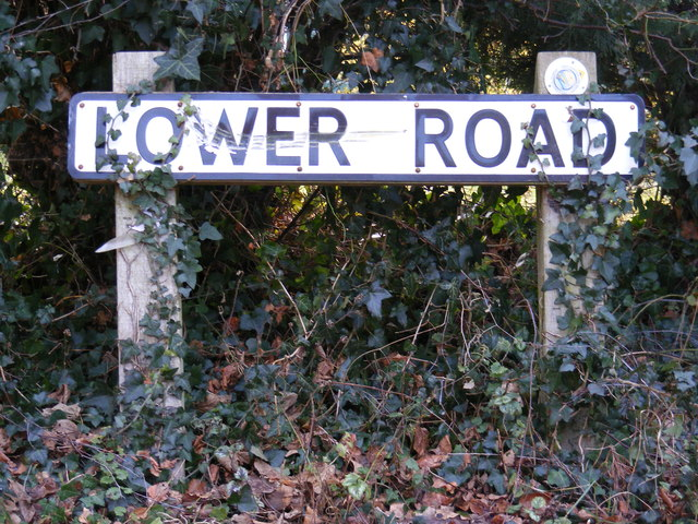 Lower Road sign