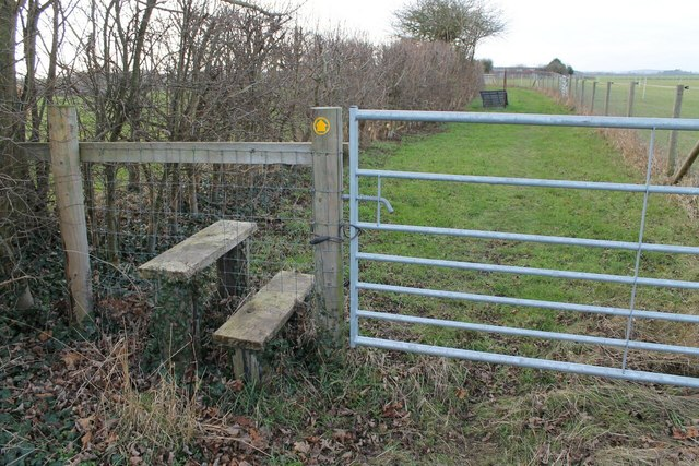Stile and Footpath off Pepper's Lane