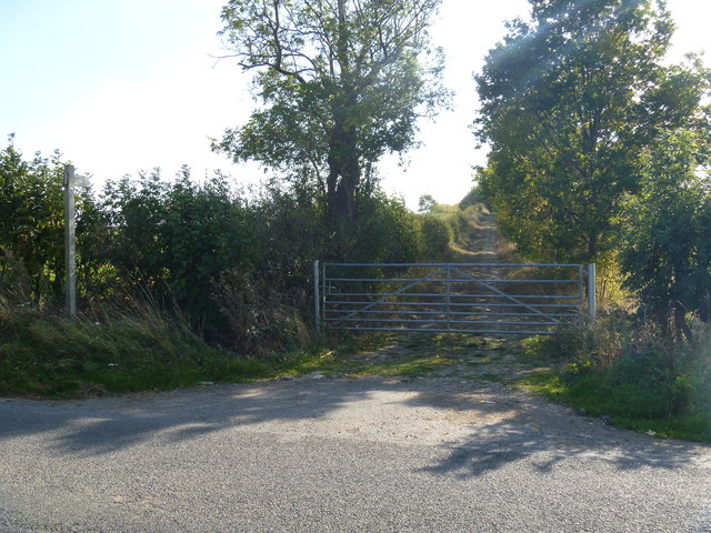 Footpath meets the road