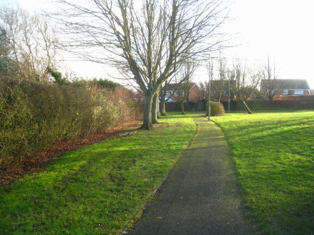 Path near Gracemere Crescent