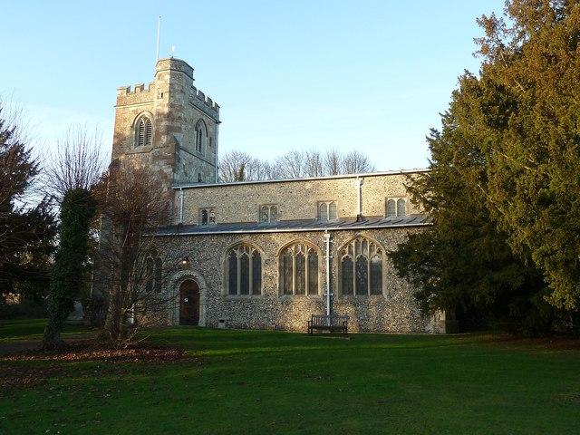 All Saints, Caddington