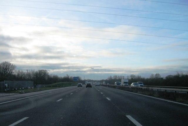 M23 heading south