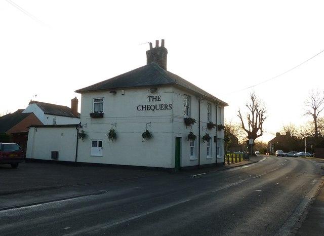 The Chequers pub, Caddington