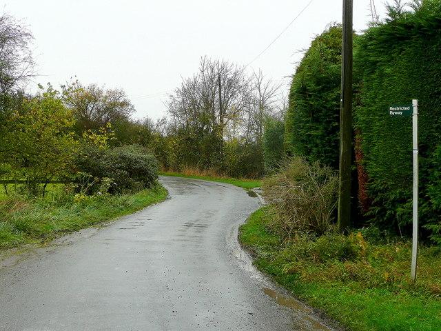 Lane to Walton Cardiff and Tewkesbury