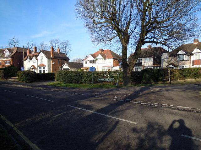 Corner of Broomfields Avenue
