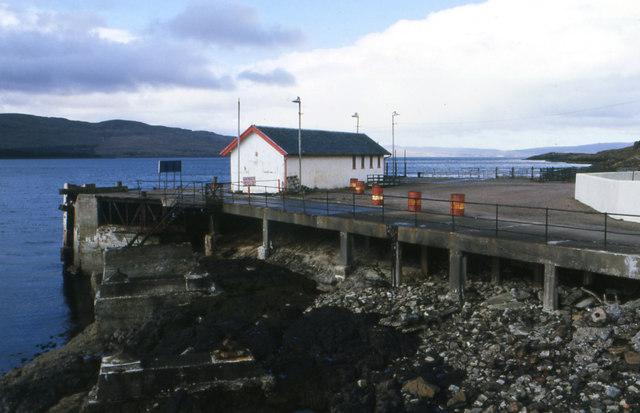 West Pier, Lochaline