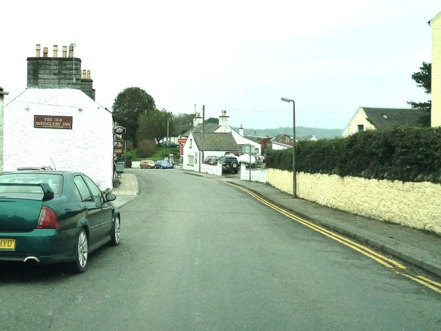 Passing The Old Smugglers Inn,  Auchencairn
