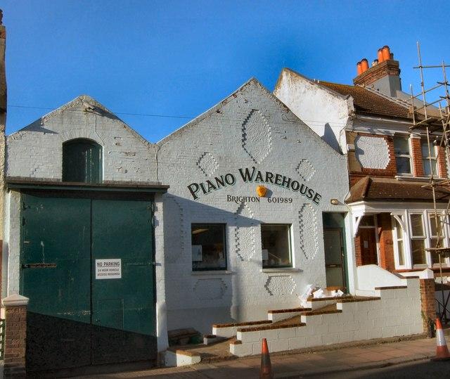 Brighton Piano warehouse