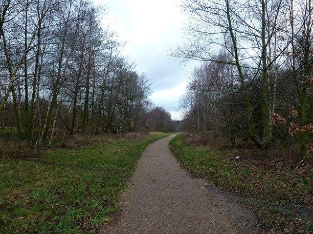 The Trans Pennine Trail near Wombwell