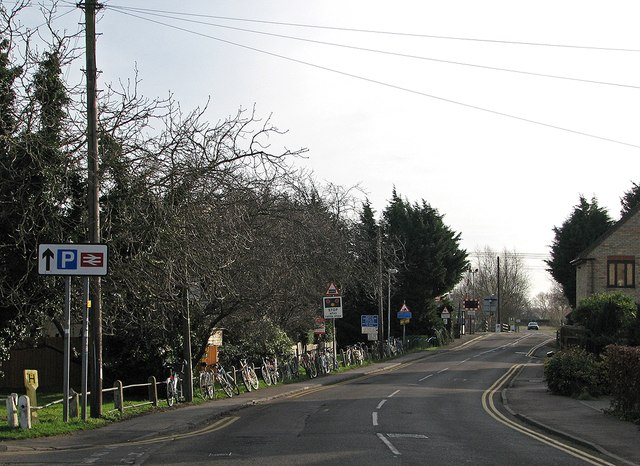 Waterbeach: commuters' bicycles