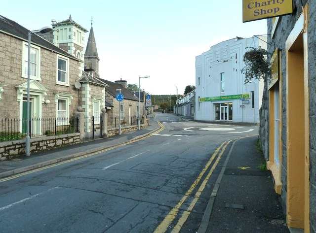 Alpine Street, looking northeast