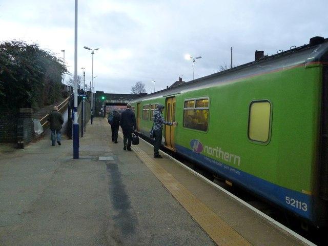 Wombwell railway station