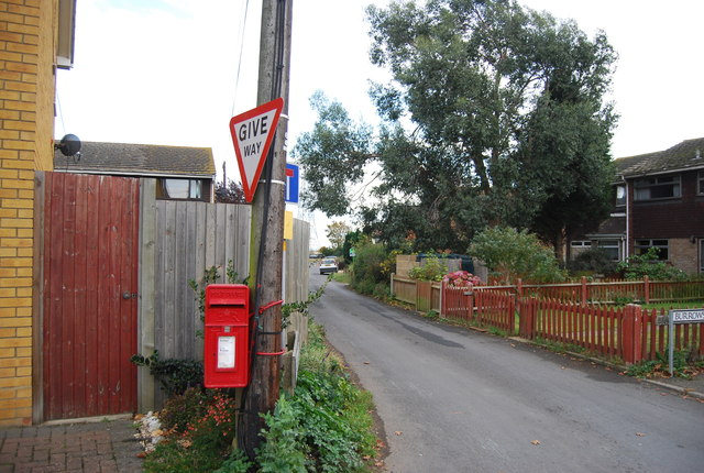Postbox, Burrows Lane