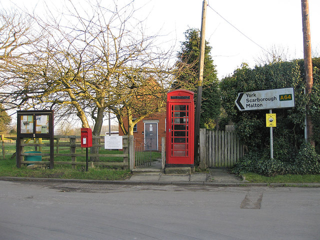 Telephone exchange, Whitwell-on-the-Hill