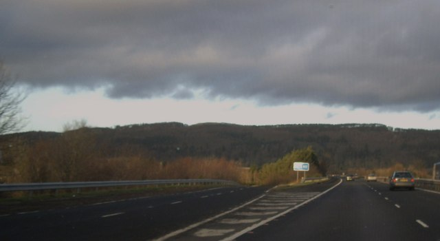 Junction 9 on M90