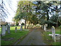 TQ5573 : East Hill Cemetery by Ian Yarham