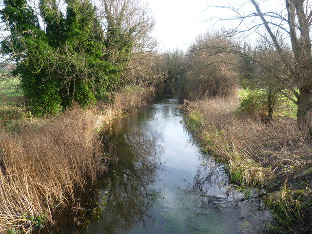 River Darent near Hawley