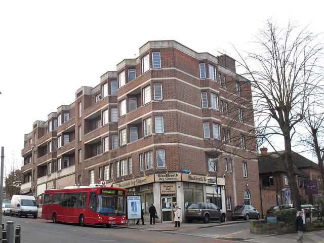 Apartment block in Blackheath
