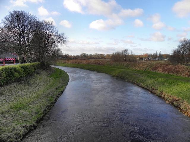 River Mersey from Crossford Bridge