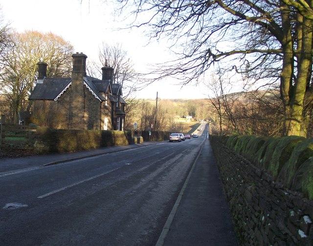 Horrobin Cottage and Horrobin Lane